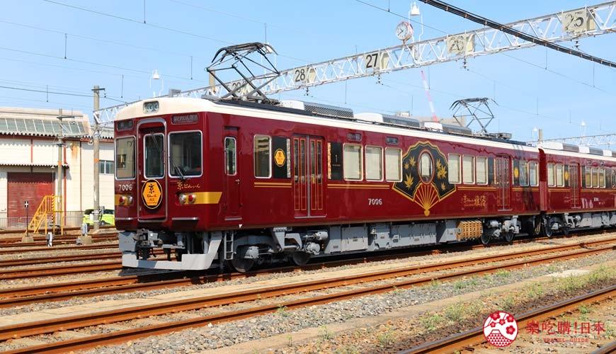 阪急電車經train雅洛號外觀