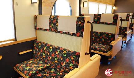 大阪京都交通阪急電車經train雅洛號一號車裝潢