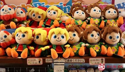 大阪推薦親子遊樂園「枚方公園」的角色玩偶