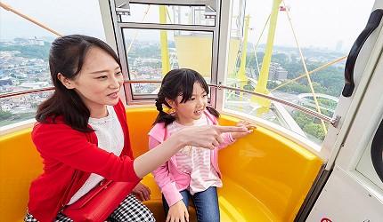 大阪推薦親子遊樂園「枚方公園」的摩天輪