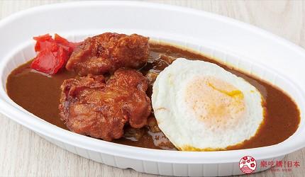 大阪推薦親子遊樂園「枚方公園」的炸雞咖哩飯