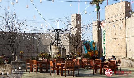 大阪推薦親子遊樂園「枚方公園」的用餐空間