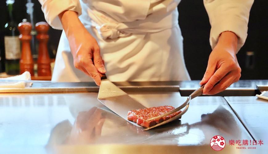 神戶米其林一星鐵板燒餐廳「雪月花 離れ」