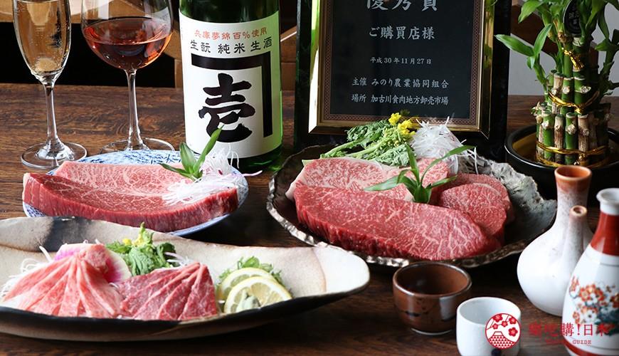 神戶三宮和牛推薦「寅松の肉たらし」:3,800日圓一次吃到神戶牛+黑毛和牛CP值最高!