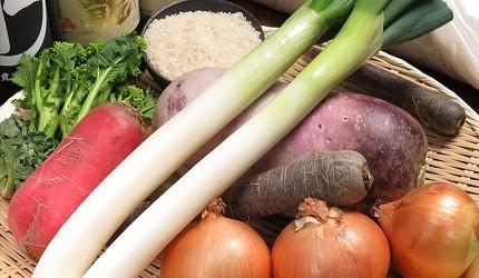 神戶三宮和牛推薦「寅松の肉たらし」的蔬菜新鮮