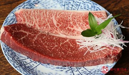 神戶三宮和牛推薦「寅松の肉たらし」的神戶牛與黑毛和牛