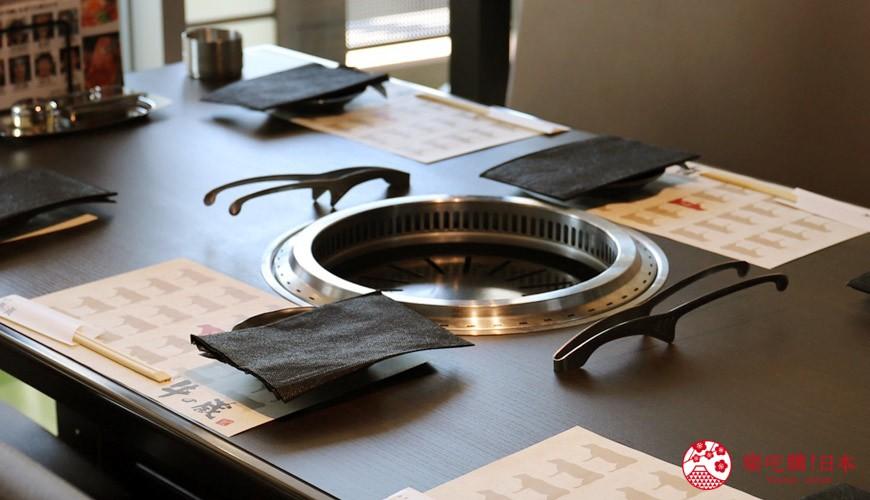 大阪難波高級和牛燒肉推薦「牛の蔵」的包廂空間