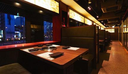 大阪難波高級和牛燒肉推薦「牛の蔵」的梅新店