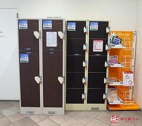 大阪市心斋桥可直达的超好逛「MITSUI OUTLET PARK 大阪鹤见」贴心地配置了投币式置物柜
