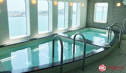 阪九邮轮海景大澡堂