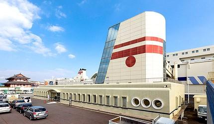阪九郵輪乘船處北九州新門司港