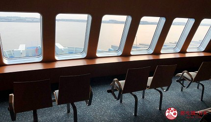 關西九州交通手段阪九郵輪海景展望台