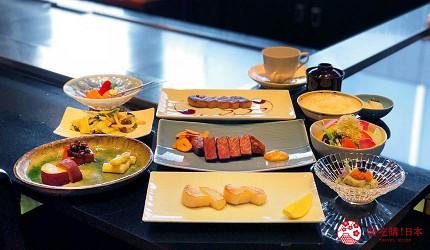 神戶米其林一星鐵板燒餐廳「雪月花 離れ」的主廚推薦套餐