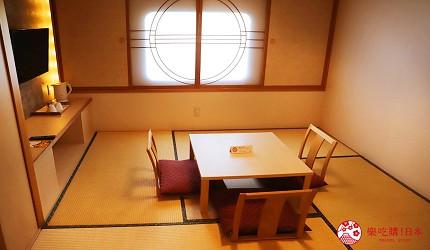 阪九邮轮房型豪华日式舱三人房