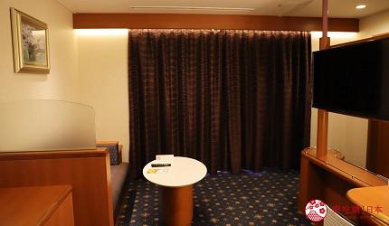 阪九郵輪房型皇家套間小客廳