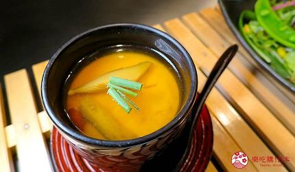 神戶和牛推薦名店「神戶牛排 Ishida.」的「特選 A5 神戶牛套餐」的名物「茶碗蒸」