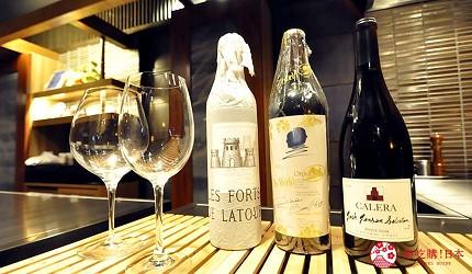 神戶和牛推薦名店「神戶牛排 Ishida.」的紅酒
