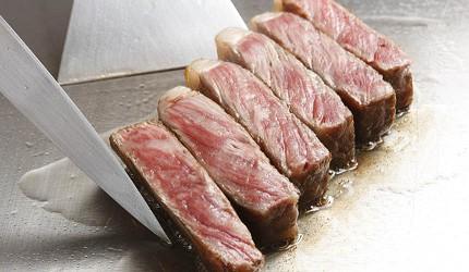 神戶和牛推薦名店「神戶牛排 Ishida.」的煎牛排圖片