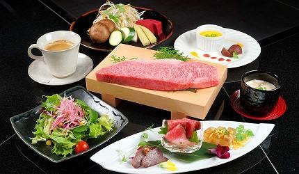 神戶和牛推薦名店「神戶牛排 Ishida.」的「特選 A5 神戶牛套餐」
