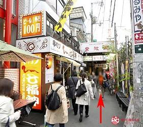 大阪天神橋筋商圈必吃推薦「串炸酒場」的交通方式步驟二