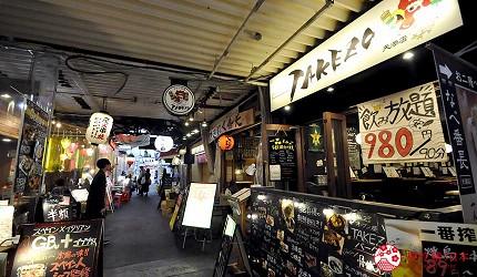 大阪天神橋筋商圈必吃推薦「串炸酒場」附近的天滿地區商店