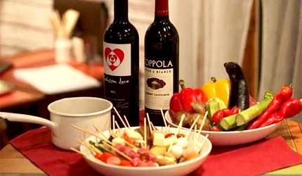 大阪天神橋筋商圈必吃推薦「串炸酒場」的紅酒
