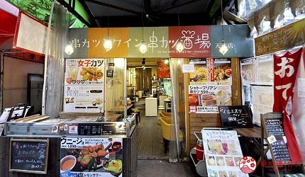 大阪天神橋筋商圈必吃推薦「串炸酒場」的交通方式步驟五