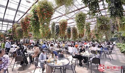 日本關西神戶必去推薦景點「神戶動物王國」的花森林餐廳