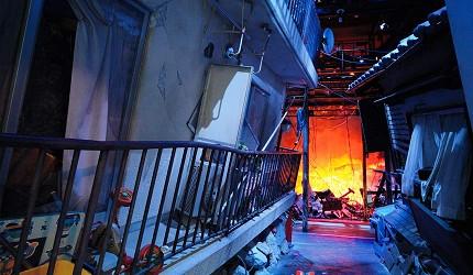 神戶親子寓教於樂景點推薦「人與防災未來中心」(人と防災未来センター)的災難現場重現