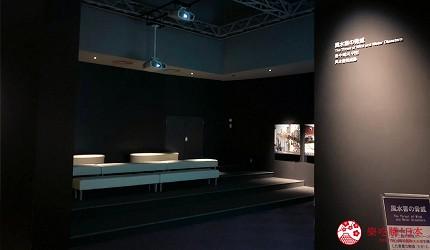 神戶親子寓教於樂景點推薦「人與防災未來中心」(人と防災未来センター)的東館「風水害的威脅」放映廳