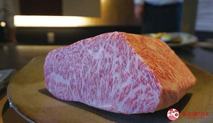 奈良用餐推荐近铁奈良站1分钟「NALALA 美食天地」的店家「和牛铁板烧关」的和牛A5等级