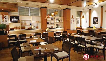奈良用餐推荐近铁奈良站1分钟「NARARA 美食天地」的店家「串炸大魔神」的用餐环境