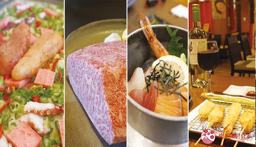 奈良用餐推荐近铁奈良站1分钟「NARARA 美食天地」4家店家美食集合照