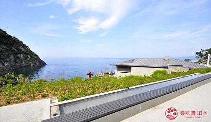 城崎日和山溫泉旅館「金波樓」的周邊景點「日和山海岸博物館」的足湯