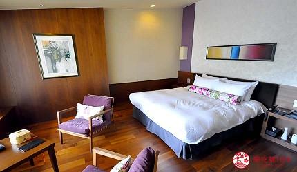 城崎日和山溫泉旅館「金波樓」的「渚之館時じく」的蜜月雙人房