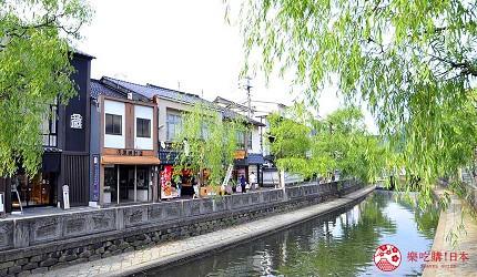 城崎日和山溫泉旅館「金波樓」的周邊景點「城崎溫泉」河道