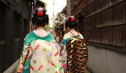 日本艺妓形象图
