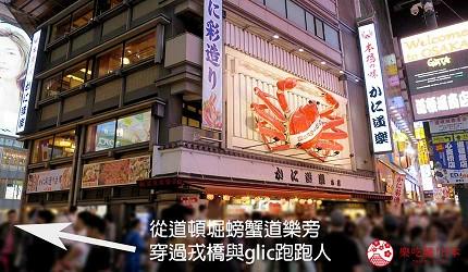 大阪心斋桥花魁酒吧「OIRAN de ENJOU 炎城」的交通方式步骤一