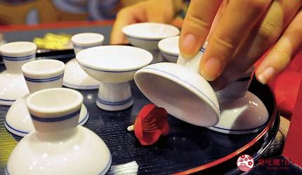 大阪心斋桥花魁酒吧「OIRAN de ENJOU 炎城」的梅花游戏