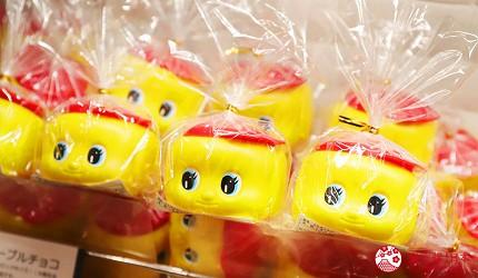 大阪自由行必經的JR大阪車站中央出口附近開設的關西限定手信伴手禮專門店兼7-11便利店「Entrée Marché」內有售的暢銷產品不易糊君FUEKI巧克力豆