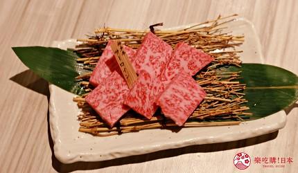 大阪心齋橋頂級和牛燒肉「黑毛和牛燒肉一」的推薦單品神戶牛