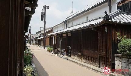 日本重要传统建筑物保存区的今井町