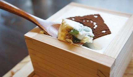 今井町的私房料理提拉米蘇內層