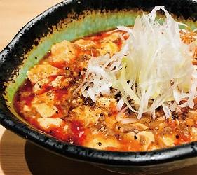 奈良用餐推荐近铁奈良站1分钟「NALALA 美食天地」的店家「串炸大魔神」的麻婆豆腐