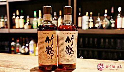 京都威士忌名酒推薦店家「酒的美術館三條烏丸本店」販售的「竹鶴系列」