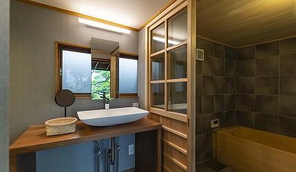 奈良町住宿推薦古民家飯店NIPPONIAHOTEL奈良ならまち房型日本酒粕浴缸