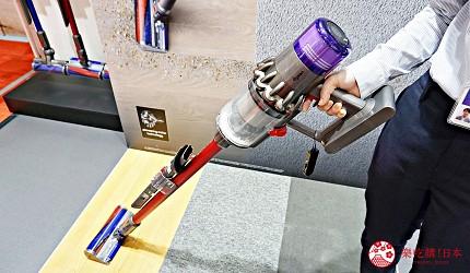 大阪難波推薦家電商場「愛電王」必買商品第四名「Dyson V11 吸塵器」