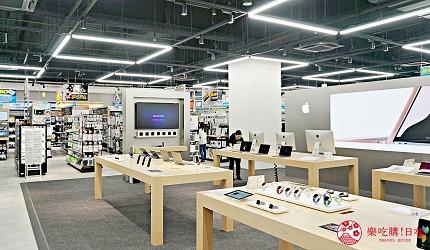 大阪難波推薦家電商場「愛電王」2樓電腦周邊、職業電競 e-sports 中心樓層一景