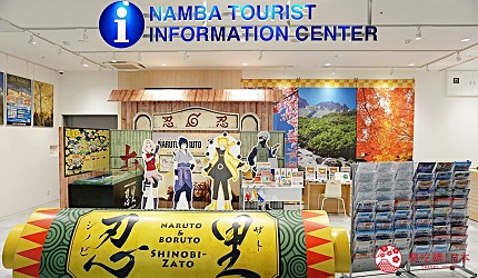 大阪難波推薦家電商場「愛電王」1樓手機、手機周邊、觀光諮詢處、活動廣場樓層一景