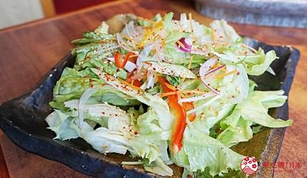 大阪道頓堀「はや・しゃぶ兆」燒肉、涮涮鍋吃到飽野菜沙拉